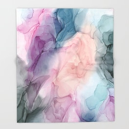 dark-and-pastel-ethereal-original-fluid-art-pain-throw-blankets