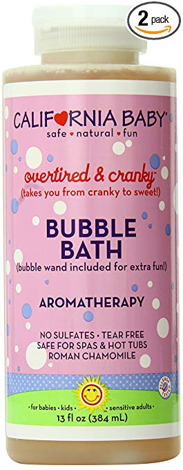California Baby Bath Bubbles
