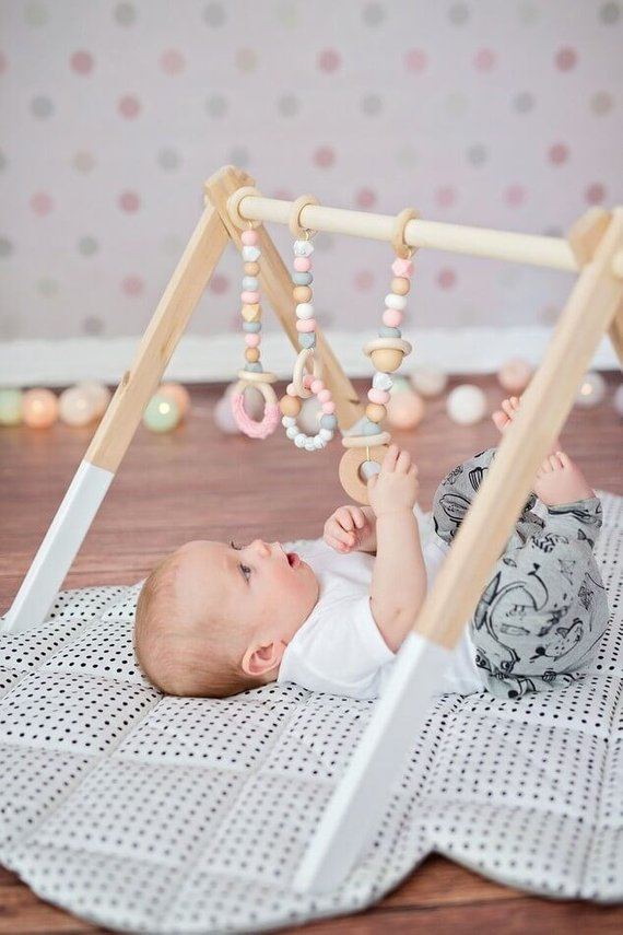 Baby Gym from Etsy