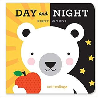 Petit Collage Toys - Day & Night First Words Book
