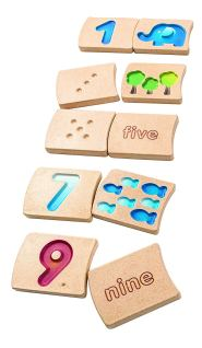 PlanToys - Numbers 1-10