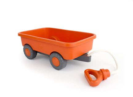 Green Toys - Wagon Outdoor Toy Orange