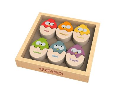 BeginAgain Toys- Coloring Eggs Matching Puzzle