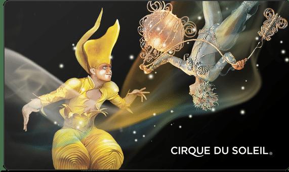 cirque du soleil gift card