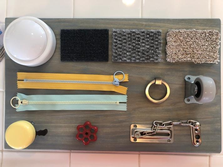 DIY Busy Board Prep