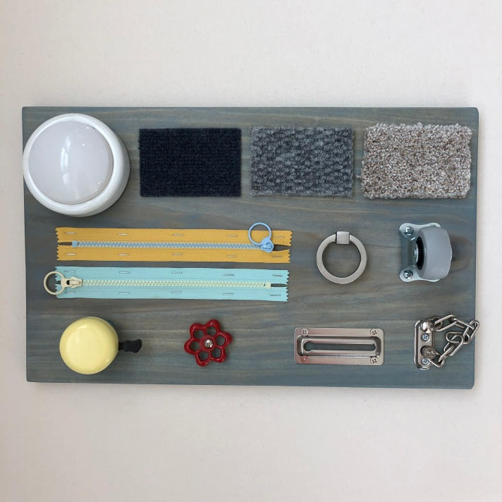 Easy / Simple DIY Busy Board